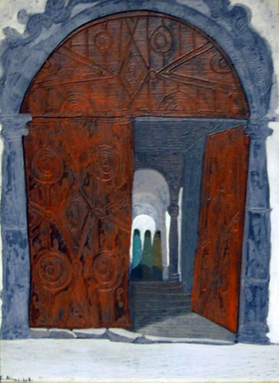 Portón colonial