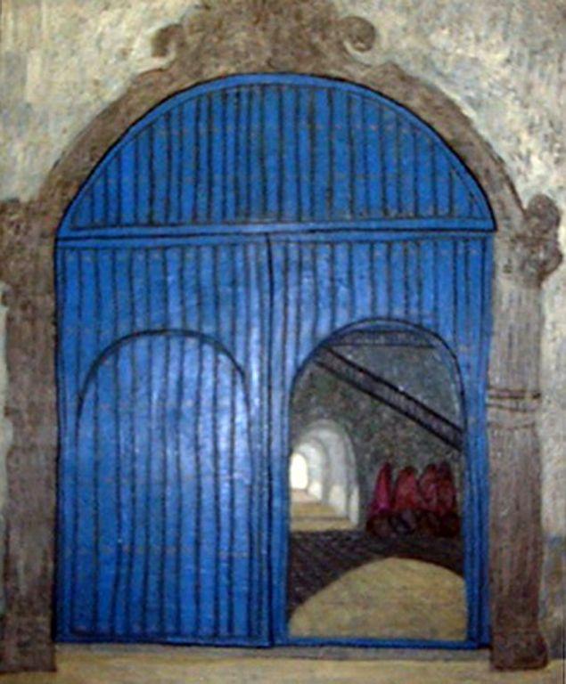 Portón de claustro