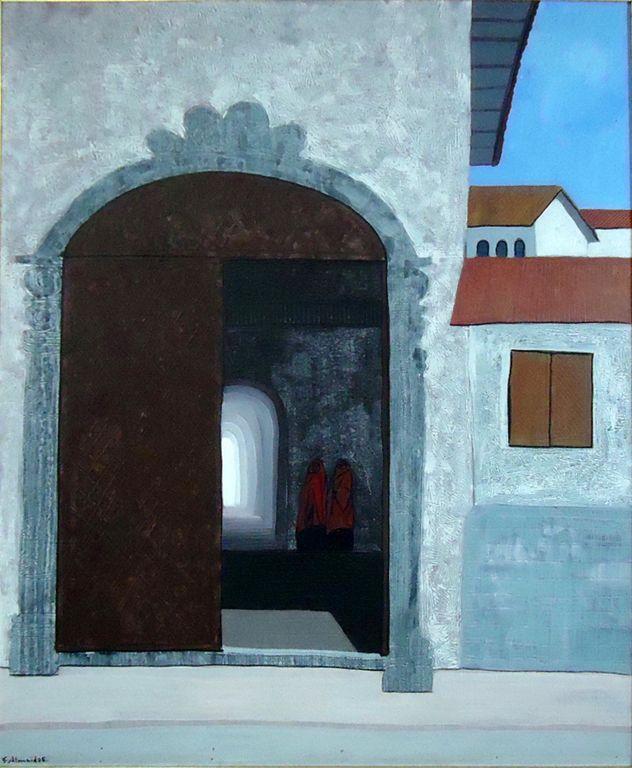 Puerta de capilla