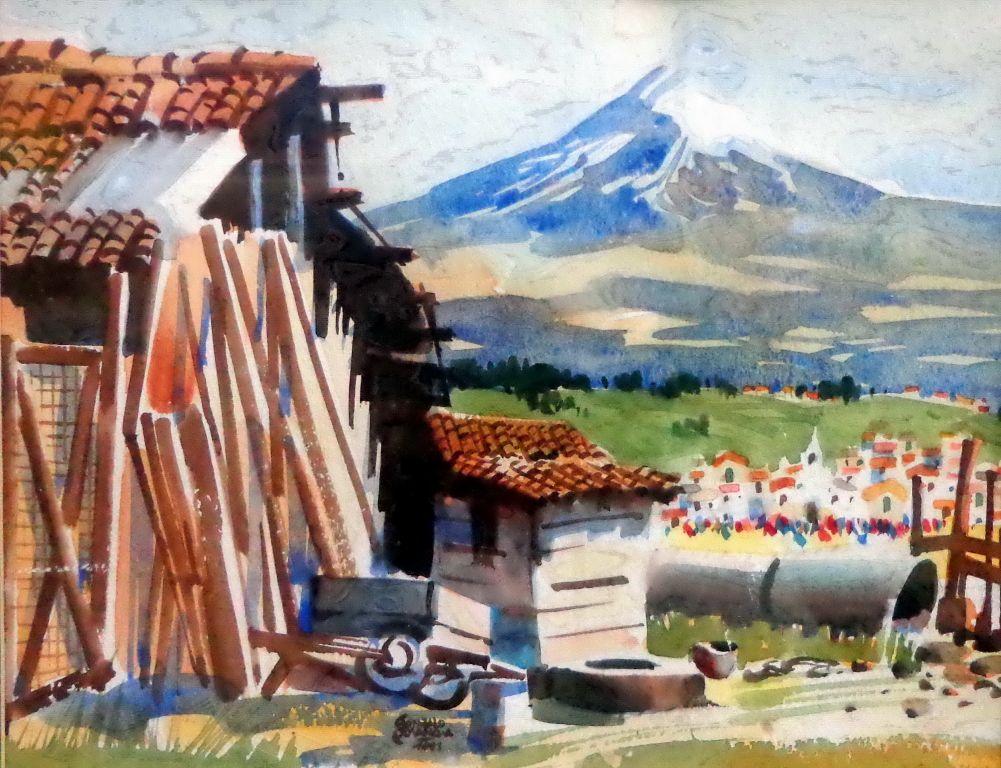 Paisaje Cotopaxi