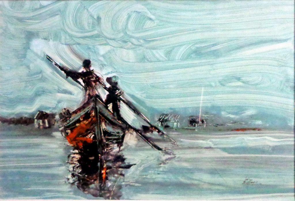 Cruzando la orilla