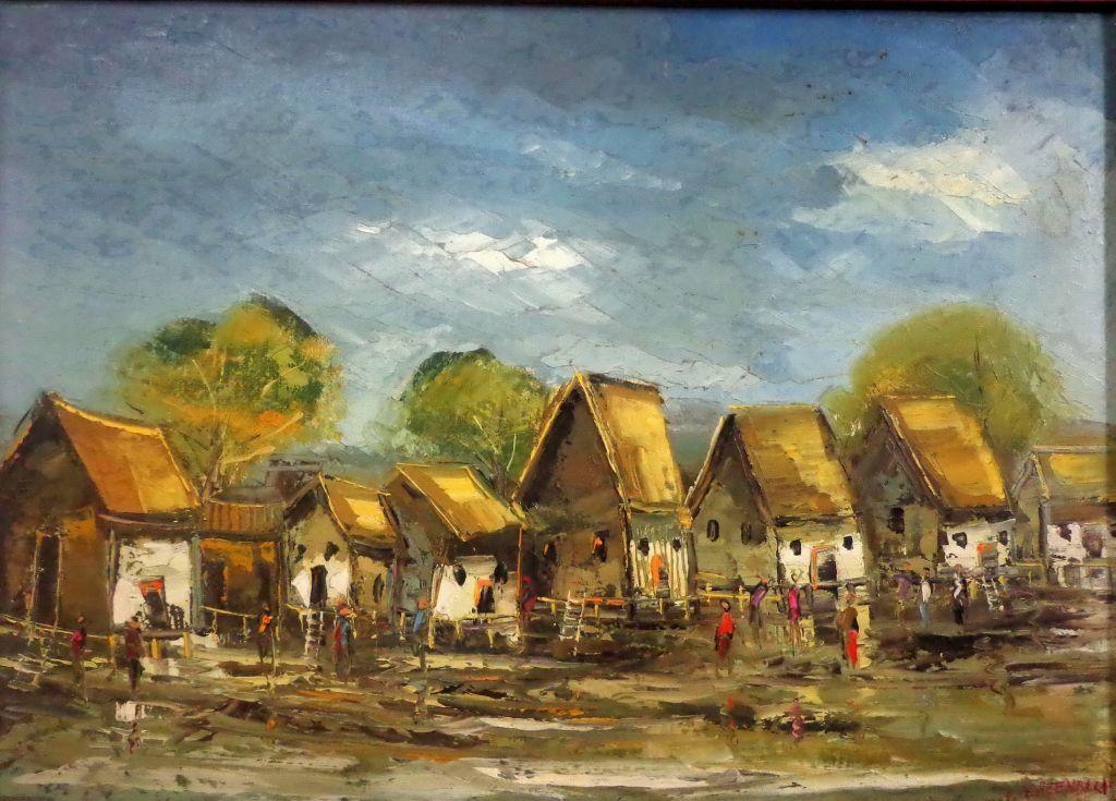 Pueblo de la costa