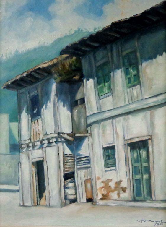Casa antigua de pueblo