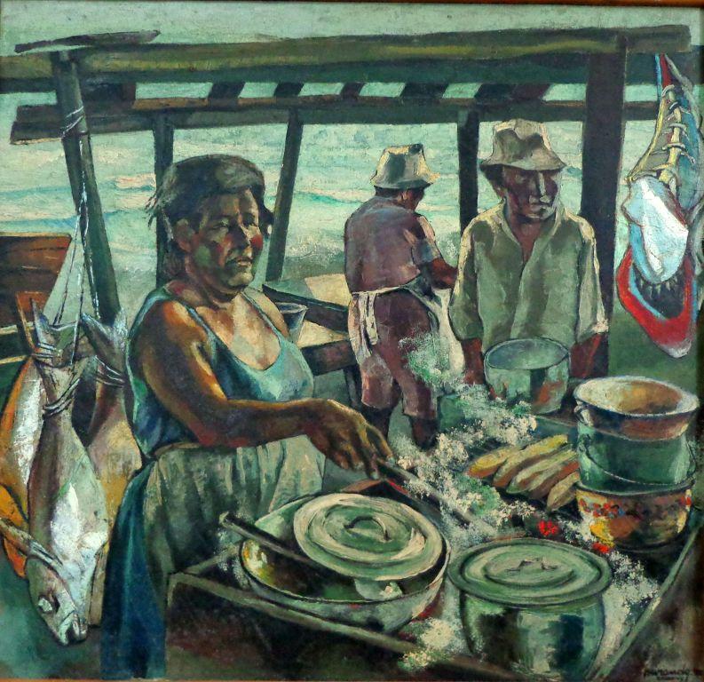 Cocina frente al mar