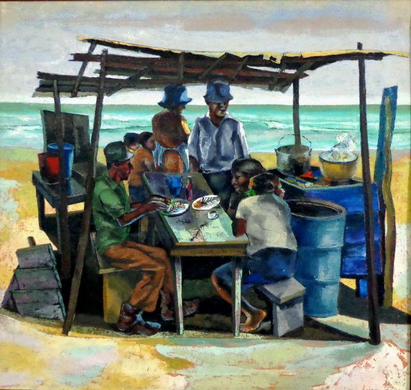 Comedor junto al mar