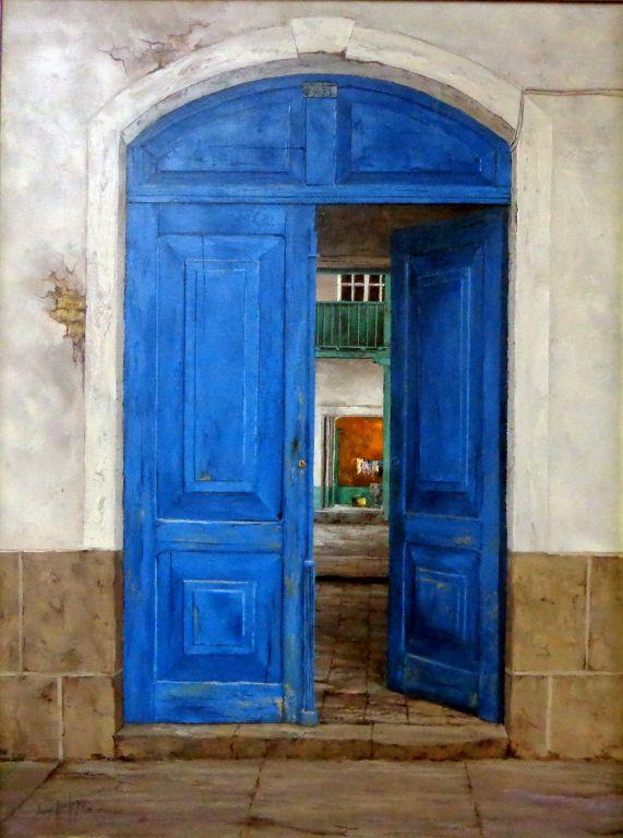 Portón de casa colonial