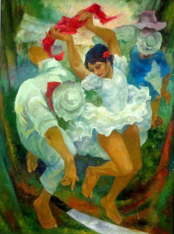 Danza montubia