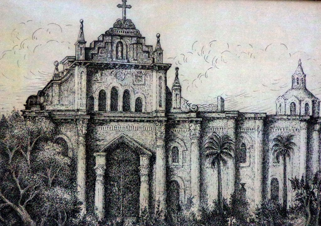 Catedral antigua Ambato