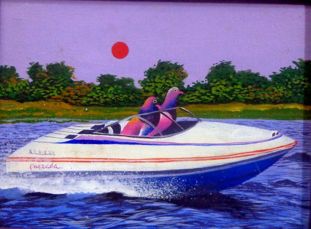 Barca y paloma