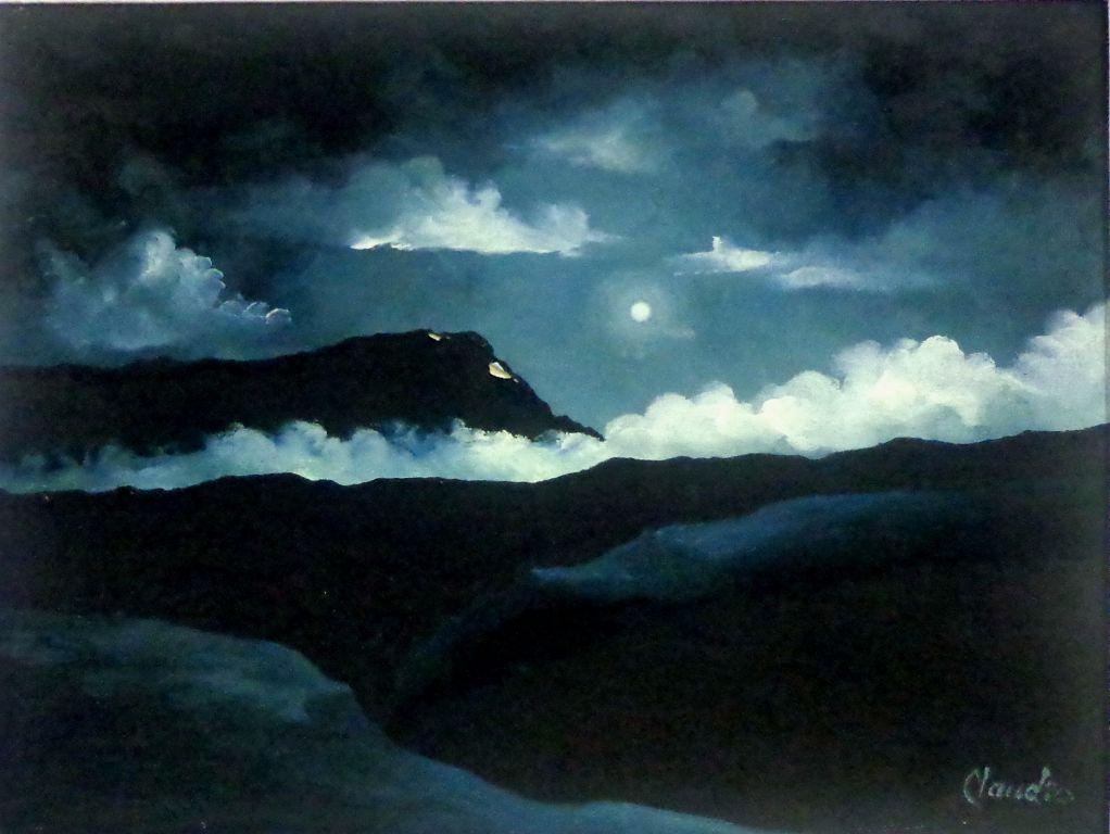 Nocturno en el mar 2